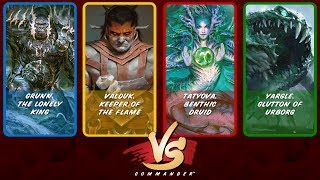 Commander VS S11E4: Grunn vs Valduk vs Tatyova vs Yargle