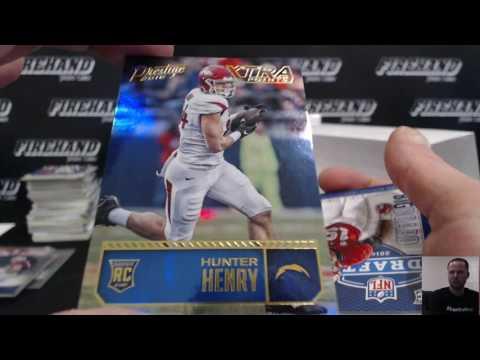 2016 Prestige Football 6 Box Break RT #1 ~ 6/11/16