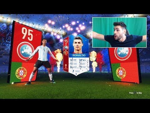 INCREDIBIL NE-A PICAT 95 RONALDO in NOUL WORLD CUP ULTIMATE TEAM - CEL MAI NOROC PACK OPENING EVER