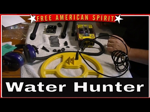 Whites Surfmaster Dual Field PI Unbox and review Gold and Silver metal detectors #FreeAmericanSpirit