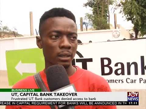 UT Capital Takeover - Business Live on Joy News (14-8-17)
