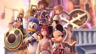Kingdom Hearts 2 All Cutscenes (Game Movie) HD 2.5 Remix 1080p