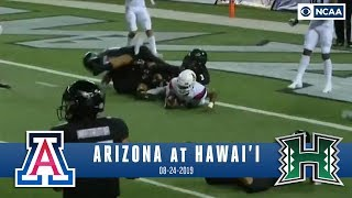 Khalil Tate comes up JUST SHORT in INCREDIBLE game at Hawaii | NCAA FB Recap | CBS Sports HQ