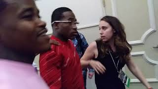 Adrien Broner in Great Spirits after Loss!Pacquiao 1 of the Best I've ever Fought