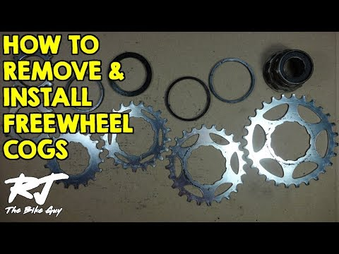 how to change a freewheel