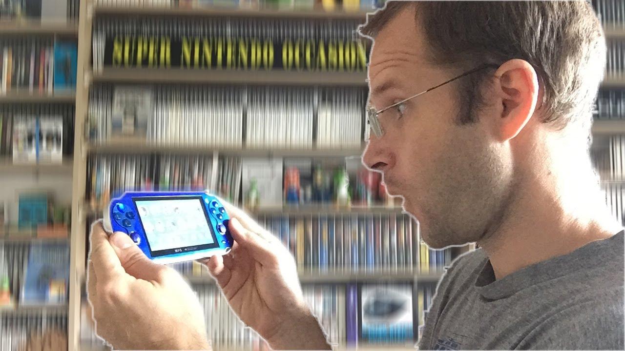 Mini ps vita retrogaming unboxing et test de la console - Ps vita test de la console ...