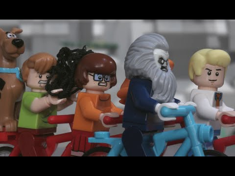 Ghoul On Wheels - LEGO Scooby-Doo - Stop Motion Mini Movie