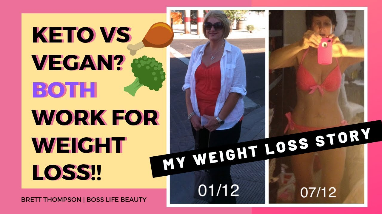 Keto Vs Vegan Losing And Gaining Weight After 50 My Weight Loss Weight Gain Story