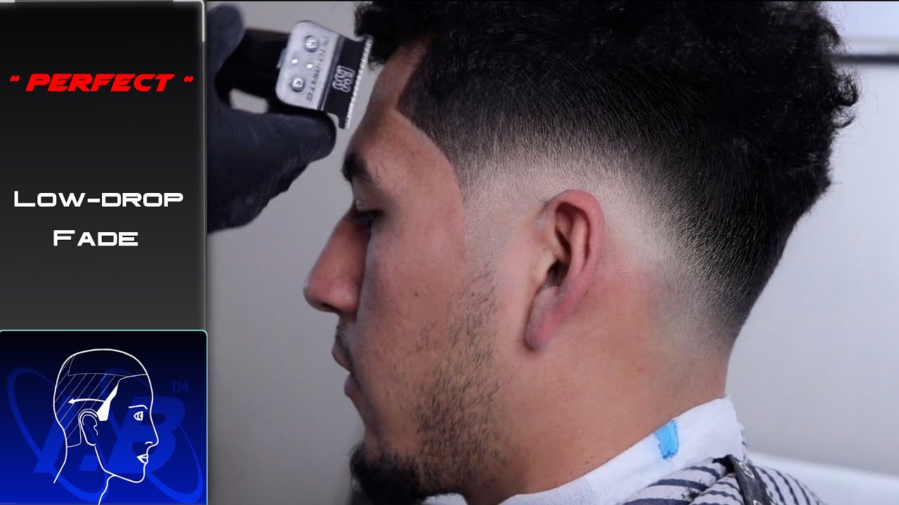 Flawless Low Drop Fade Technique Barber Tutorial Youtube