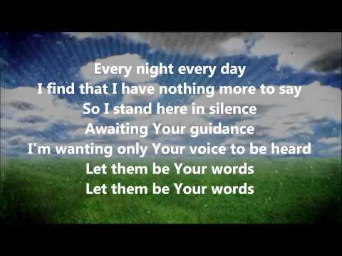 Give Me Words to Speak (Aaron Shust) - LYRICS