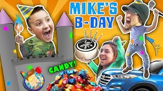 Michael's 9th Birthday! Party Animals    FUNnel V Birthday Vlog