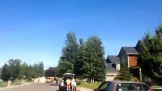 The Montana Marathon route in 4 minutes