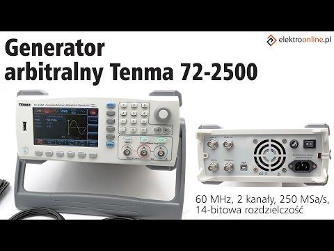 Generator TENMA 72-2500 - Video-recenzja