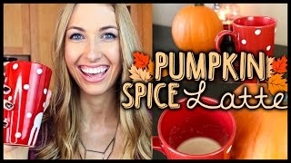 ☕ Diy Starbucks Pumpkin Spice Latte Recipe