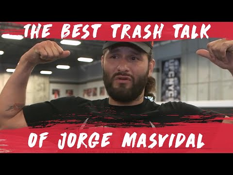 The Best of Jorge Masvidal's Trash Talk