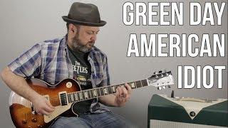 Video Green Day American Idiot Guitar Lesson download MP3, 3GP, MP4, WEBM, AVI, FLV Agustus 2017