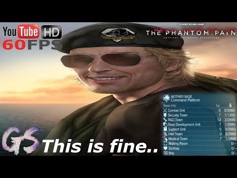 Firing All Of My Staff (2000 S++) I Metal Gear Solid V: The Phantom Pain
