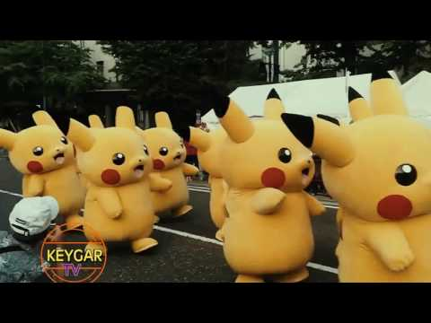 Lagu Goyang Cari Pokemon Dance Video Remix New Pikachu Dance 2017
