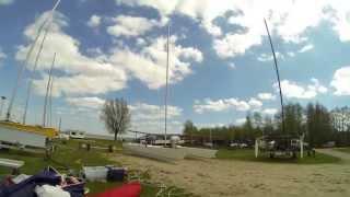 GOPRO Catamaran zeilen Zuidlaardermeer