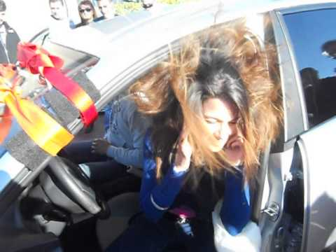 Salento Tuning Club,Mauro Panizza hair trick with Ilaria