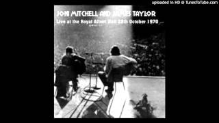 Joni Mitchell & James Taylor - live in London (1970)
