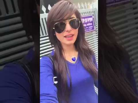 Anika Kabir Shakh live on shooting
