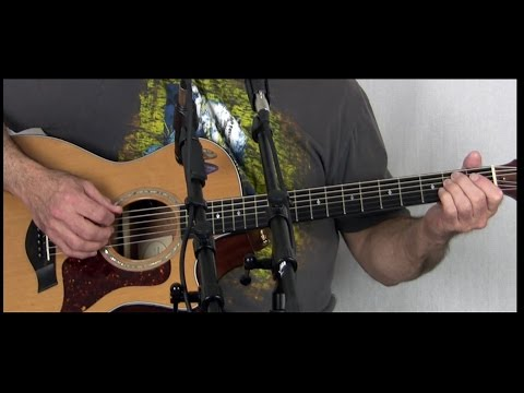 Major Tom - Peter Shilling - Guitar Tutorial - by Barry Harrell