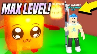 NEW PET LEVELS UPDATE IN MINING SIMULATOR!! *MAX LEVEL* (Roblox)