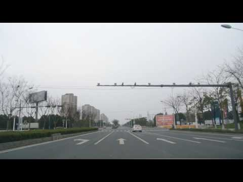 20170220_Driving westward on Qianjin West Rd and Yangchenghu Ave