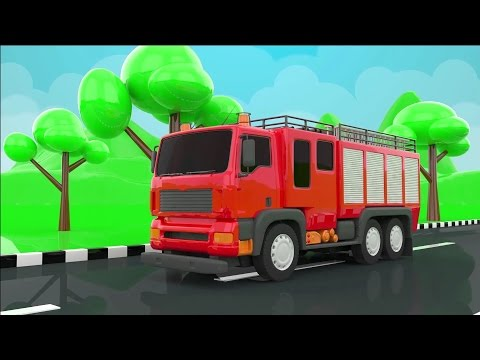 Thumbnail: Baby Learn Colors for Children to Learn with Street Vehicles - Learning Videos - Colours for Kids
