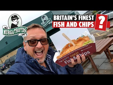 Britain's Finest Fish And Chips? (Murgatroyds, Yeadon Leeds)