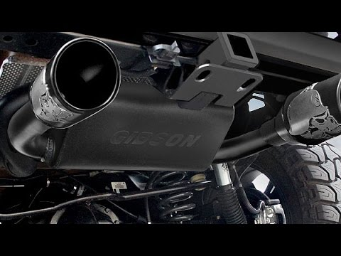 gibson exhaust systems installation video
