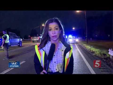 Injuries Reported In Briley Parkway Crash