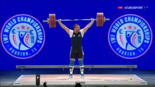 Чемпионат мира 2015. Мужчины в.к. до 105 кг.