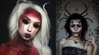 EASY HALLOWEEN MAKEUP TUTORIAL - DEMON #3