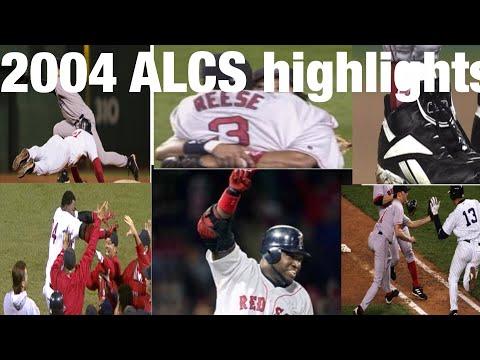 2004 ALCS Highlights