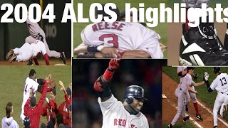 2004 ALCS Highlights
