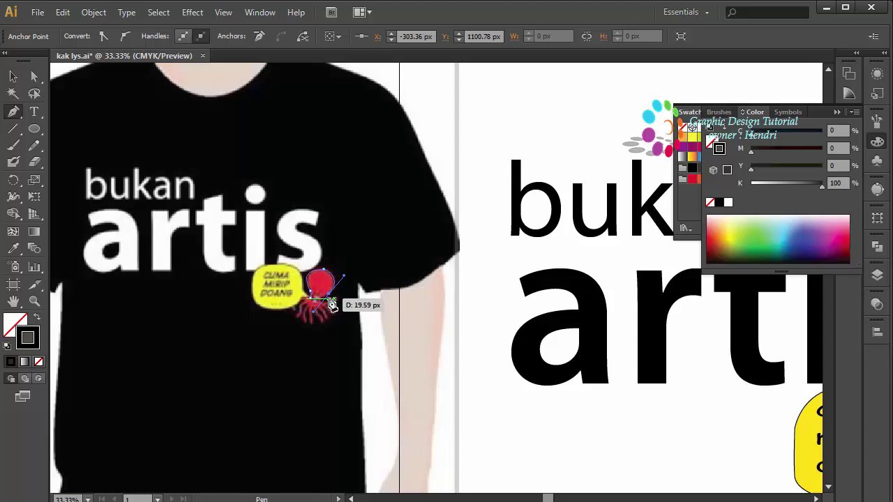 Design t shirt adobe illustrator tutorial - Professional Logo Design T Shirt Adobe Illustrator Cs6 Graphic Design Tutorial