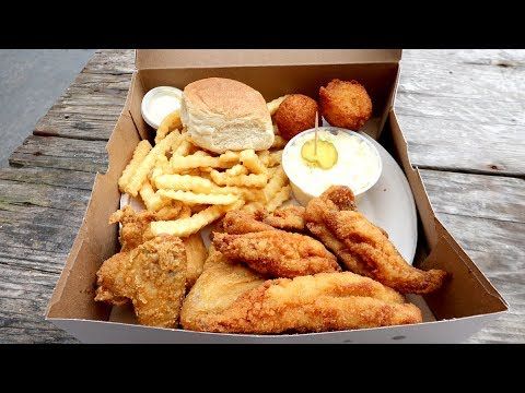 Extra CRISPY Fried SOUTHERN FOOD & Craft BEER In South End | Charlotte, North Carolina