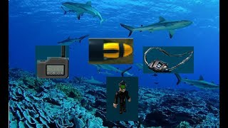 game passes! roblox scuba diving at quill lake. finding the last few artifacts