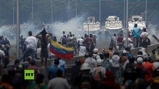 🔴 Tensión y enfrentamientos en las calles de Venezuela