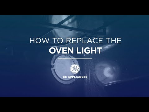 GE Appliances Oven Light Installation Instructions