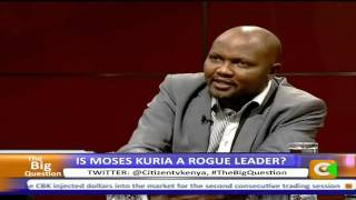 Moses Kuria Walks Out On The Big Question Interview