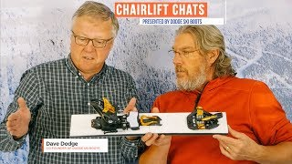 HOW SAFE ARE ALPINE TOURING BINDINGS?   | Dodge Ski Boots Chairlift Chat #03