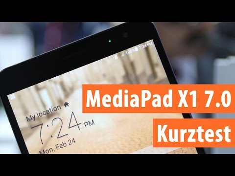 Huawei MediaPad X1 7.0 im Hands On und Kurztest | Deutsch