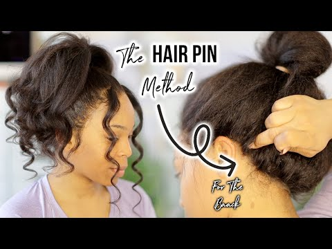 Forget GLUE ! Try This Method Instead For 360 LACE WIG | WOWAFRICAN