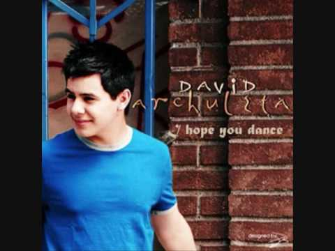 David Archuleta  I Hope You Dance