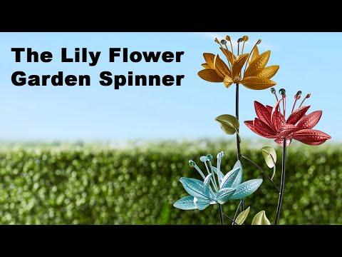 The Lily Flower Garden Spinner