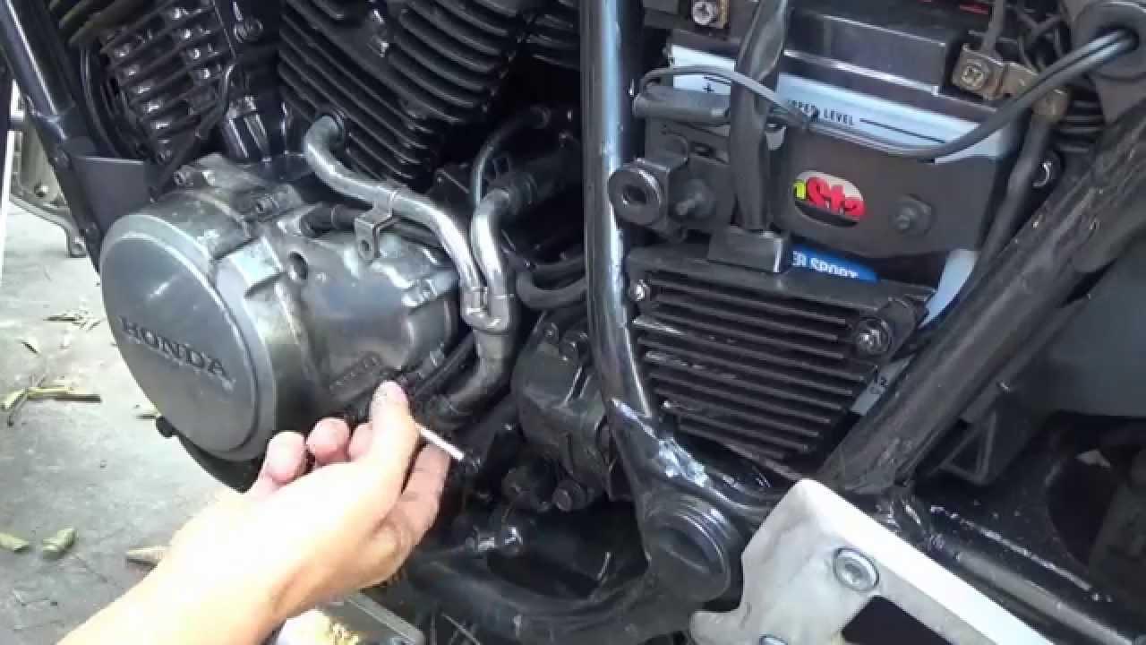 1985 Honda Shadow VT500 Stator removal  install DIY  YouTube