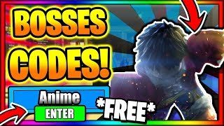 In this video i will be showing you all the new working codes anime fighting simulator for bosses update 8! if enjoyed make sure to ...